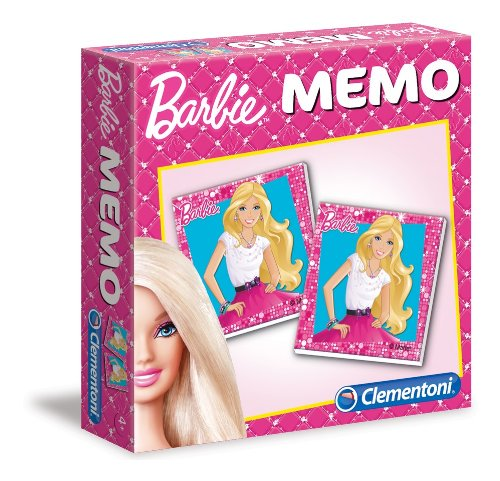 Clementoni - Juego de fichas Barbie [Importado de Alemania]