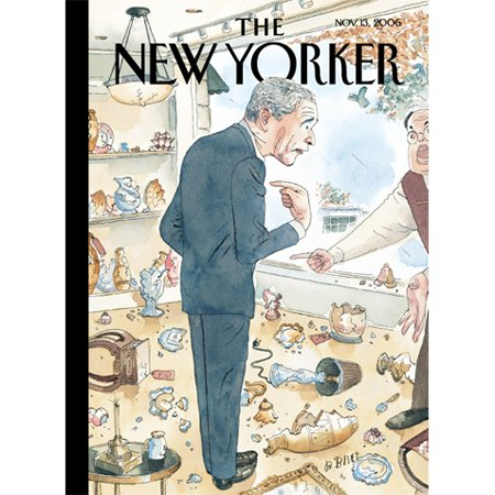 The New Yorker (Nov. 13, 2006) audiobook cover art