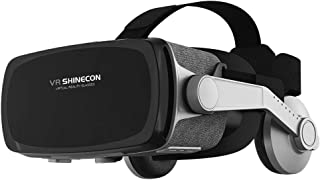 Virtual Reality Headset, VR SHINECON New Version 9.0 VR Headset 3D VR Glasses for TV, Movies & Video Games - VR Goggles Co...