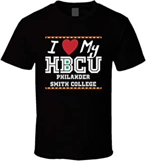 I Love My Hbcu Philander Smith College Pro Black Colleges T Shirt