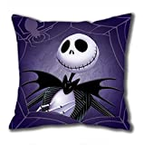iCustomonline The Nightmare Before Christmas Square Cloth Pillow Cushion Case in 4040CM / 1616Inch