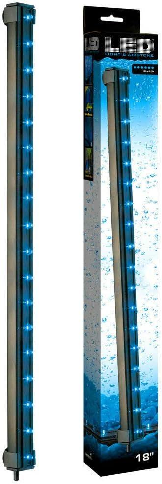 ViaAqua Blue LED Submersible Air Aquariu Light Great interest Underwater Bubble El Paso Mall