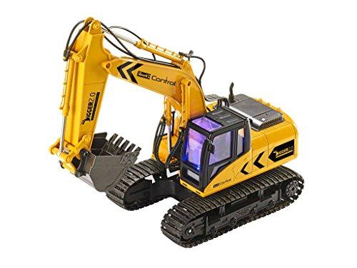 RC Auto kaufen Baufahrzeug Bild 2: Ferngesteuerter Revell RC Kettenbagger inkl. Sortiergreifer mit 6 Kanälen im Maßstab 1:16, 2.4GHz*