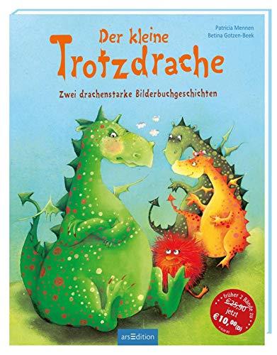 Der kleine Trotzdrache: Zwei drachenstarke Bilderbuchgeschichten   Bilderbuch über Trotz und Angst, für Kinder ab 3 Jahren