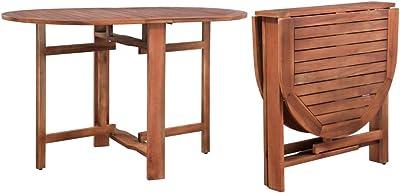 vidaXL Dining Table Dinner Kitchen Room Indoor Outdoor Furniture Office Desk Retro Industrial 120x70x74cm Solid Acacia Wood Rectangular