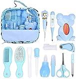 13 piezas kit de aseo para bebés, kit de cuidado del bebé Set de preparación para recién nacidos, accesorios esenciales para el cuidado de la salud del recién nacido, la salud y el cuidado del niño