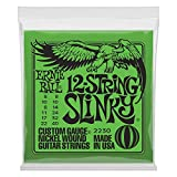 Ernie Ball 12-string Slinky Nickel Wound Set, .008 - .040