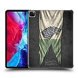 HBO - Carcasa rígida para iPad de Apple, diseño de bandera de Juego de Tronos, compatible con Compatibility: Apple iPad Pro 12.9 (2020): 128GB,...