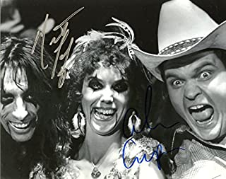 Alice Cooper / Meatloaf In Person Signed Autographed PhotoPrivate Signing