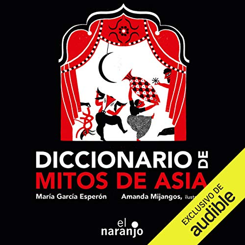 Couverture de Diccionario de mitos de Asia [Dictionary of Asian Myths]