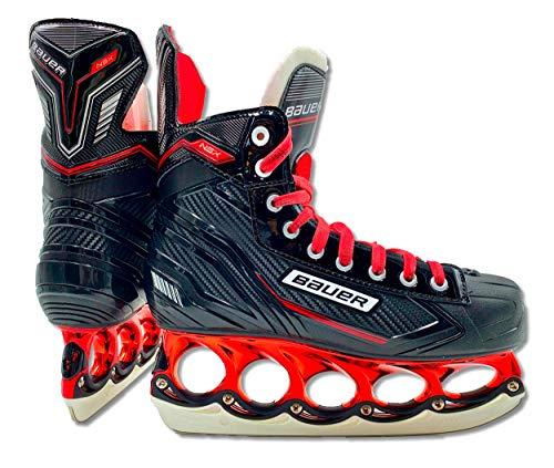 tblade Schlittschuhe Bauer RED NSX Limited Edition t-Blade Eishockey Schlittschuh Sondermodel (42)