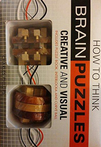 Brain Puzzles, Includes Puzzle Book, Interlocka and Curve Ball