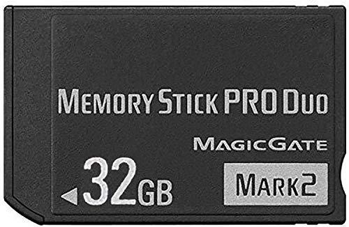 XINHAOXUAN Pro Duo MARK2 Memorystick (32 GB) für Sony PSP Zubehör/Kamera Speicherkarte