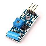 Ecloud Shop® Módulo del Sensor de Movimiento SW-420 para Arduino EK125