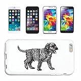 Reifen-Markt Hard Cover - Funda para teléfono móvil Compatible con Samsung Galaxy S3 Mini Labrador cría de Perros de la casa Perros Perrera DE CRIADORES DE Perrito