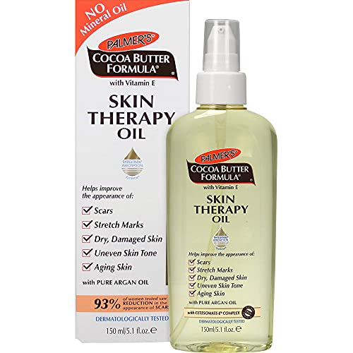 Cocoa Butter Formula Skin Therapy Moisturizing Body Oil with Vitamin E, 5.1 Ounces Limited Edition Pack of 1