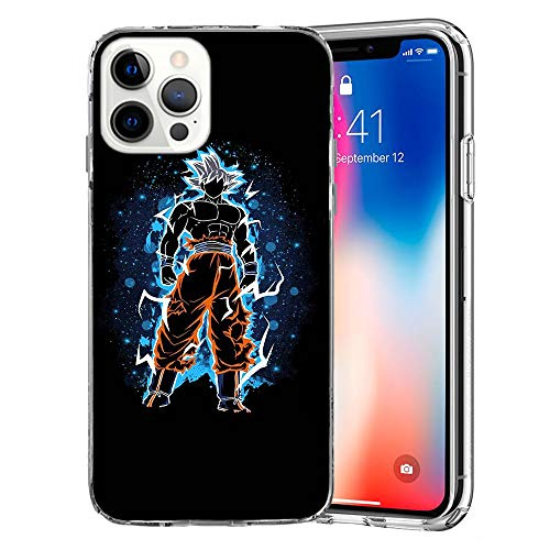 MMB UK Dragon Ball Z Super iPhone Protective Case Covers Compatible for All iPhones (iPhone 11, Goku Ultra Instinct)