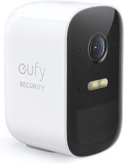 eufy Security eufyCam 2C draadloze bewakingscamera, 180 dagen batterijduur, 1080p HD, IP67 weerbestendig, nachtzicht, comp...
