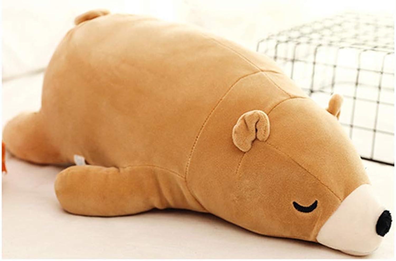 AZUO Dessin Animé Charhommet Doux Fille Petite Amie Dormir avec Oreiller PanseHommest Ours Peluche Jouet,F,90cm