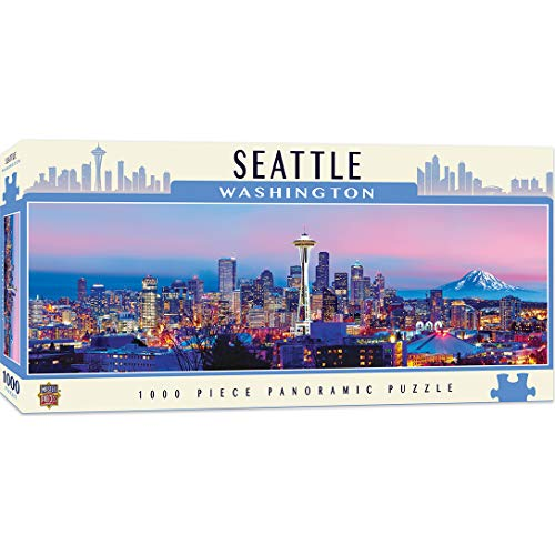 SEATTLE 1000PC PANORAMIC (National Parks and Cityscapes)