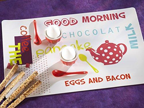 CALITEX Good Morning, PVC, Fuchsia, 44x28 cm