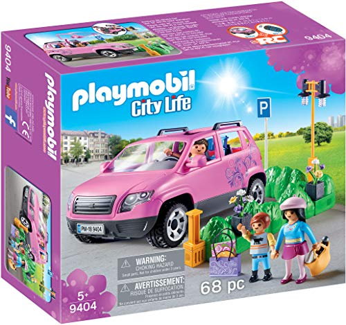 Playmobil- City Life Coche Familiar con Parking, Multicolor (geobra Brandstätter 9404)