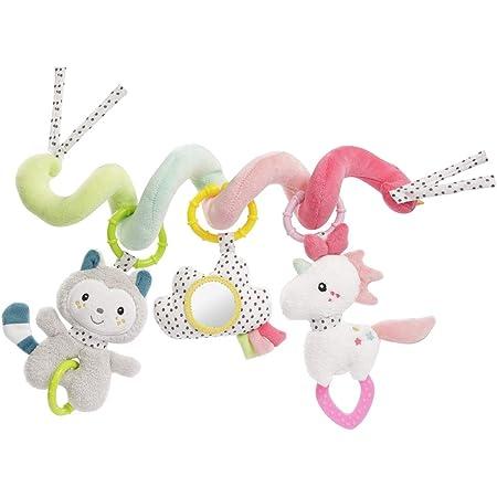 Fehn 057034 - Spirale di attività Aiko & Yuki – Divertimento per sentirsi e afferrare – per neonati e bambini a partire da 0 + mesi – Lunghezza: 30 cm