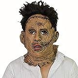 thematys® La Masacre de la Motosierra de Texas Máscara Thomas Leatherface Carnaval, Fiesta de Disfraces y Halloween - Disfraz para Adultos - látex, Unisex Talla única