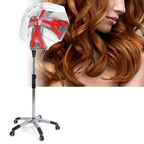 WRQ 800W Sèche Cheveux Chauffants Professionnel Cheveux Couleur Processeur Accélérateur Roulant Base Coiffure Équipement pour Coiffeur Salon Beauté Spa Outils