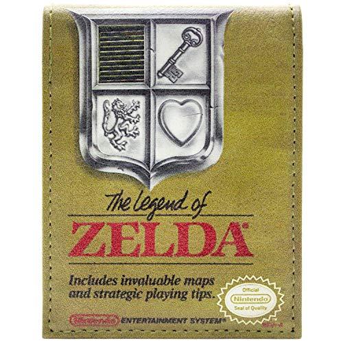 Cartera de Legend of Zelda Diseño de Caja de Juego Oro