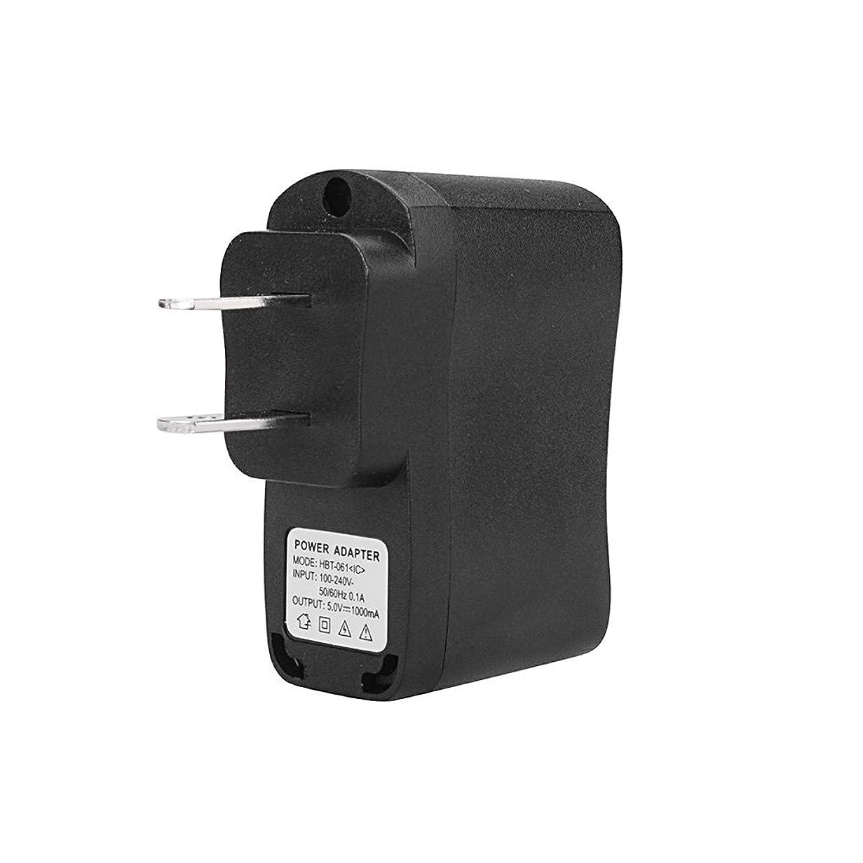 ラフ睡眠シティスクラップAndoer 5V 1000mA 出力 US プラグイン 旅行用 充電器 USB電源プラグ SJ6000 SJ5000 SJ4000 小型 スポーツDV スマートフォン 携帯電話に対応 並行輸入品