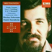 Violin Sonatas 5, 8 & 9 by Beethoven