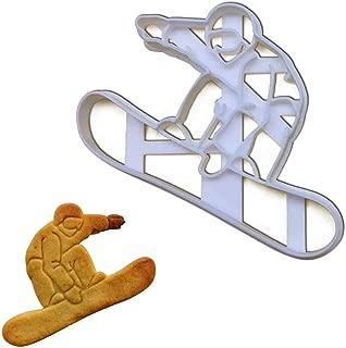 Snowboarder cookie cutter, 1 piece - Bakerlogy