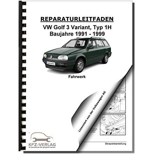 VW Golf 3 Variant (91-99) Fahrwerk Achsen Lenkung Bremsen Reparaturanleitung