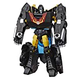 Transformers Bumblebee Cyberverse Adventures Action Attackers Warrior Class Stealth Force Hot Rod Action Figure, Fusion Flame Move, 5.4-inch