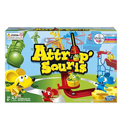 Hasbro C04311010 -Attrap'Souris Mausefalle Spiele Classic - Kinderspiel French Version