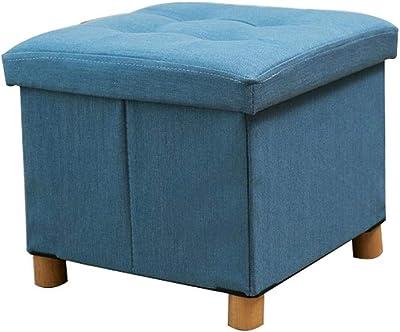 Fabulous Amazon Com Footstool Ottoman Pouffe Storage Box Lounge Seat Creativecarmelina Interior Chair Design Creativecarmelinacom