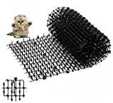 Flying Spoon Cat Scat Mat, Anti Cat Mat with Spikes Indoor & Outdoor for Garden, Fence, Anti-Cats Network Digging Stopper Prickle Strip