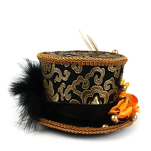 Xingyue Aile Sombrero de copa y gorras de vaquero, Micro Sombrero de c