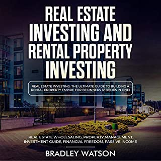 Real Estate Investing: The Ultimate Guide to Building a Rental Property Empire for Beginners audiobook cover art