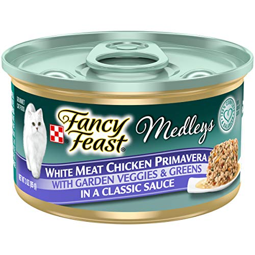Price comparison product image Purina Fancy Feast Gravy Wet Cat Food,  Medleys White Meat Chicken Primavera - (24) 3 oz. Cans
