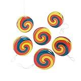 Fun Express - Swirl YO-yo - Toys - Value Toys - Yo - Yos - 12 Pieces