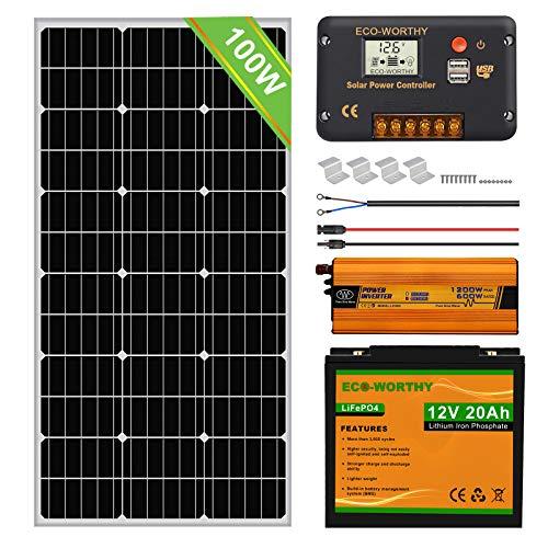 Paneles Solares Para Casa De Campo Marca ECOWORTHY
