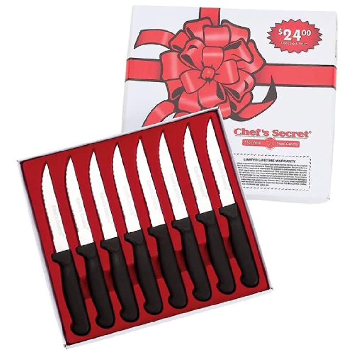 Chef CTCS8 8 Piece Steak Knife Set