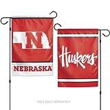 Nebraska Huskers 2-Sided Garden Flag