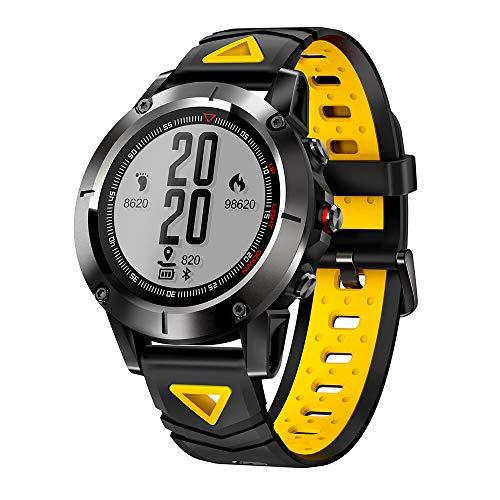 Strong Durable Best Bakeey Sport Watch GPS Smart Watch Blood Pressure Oxygen Heart Rate Monitor Compass Watch