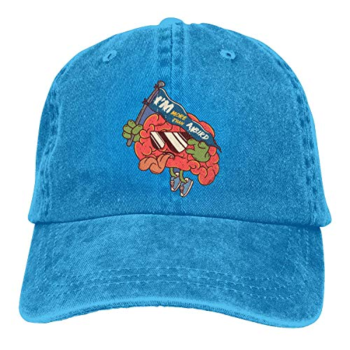 Preisvergleich Produktbild Lightweight Sweatshirt Unisex Washed Adjustable Fashion Cowboy Hat Denim Baseball Caps