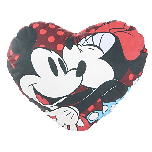 Almofada Disney Coracao Mickey e Minnie