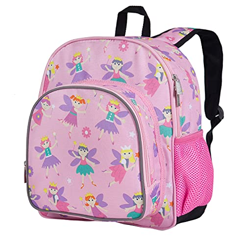 Wildkin 12 Inches Backpack for Toddlers, Boys and Girls, Ideal for Daycare, Preschool and Kindergarten, Perfect Size for School and Travel, Mom's Choice Award Winner, Olive Kids (Fairy Princess)
