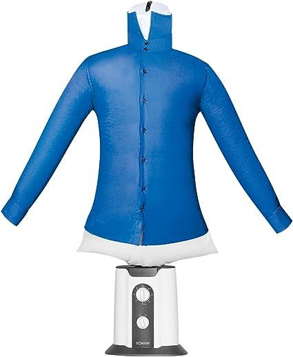 Bomann HBB 6025 CB - Planchador de Camisas y Blusas (2 en 1, para secar y Planchar en un Paso, Temporizador de 180 Minutos)